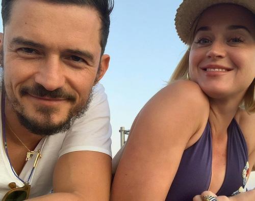 orlando katy 4 Orlando Bloom festeggia il compleanno di Katy Perry su IG