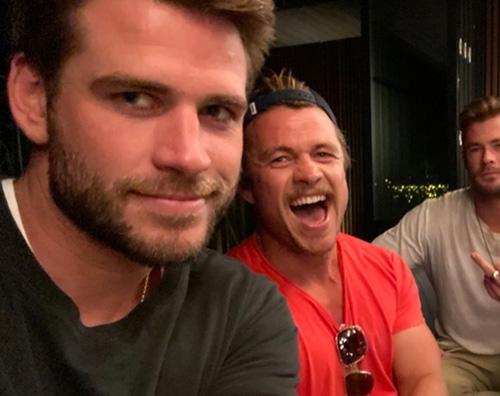 fratelli hemsworth I fratelli Hemsworth insieme su Instagram