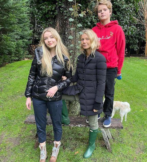 127278831 685813715655960 4165867183787778112 n Gwyneth Paltrow con i suoi figli su Instagram