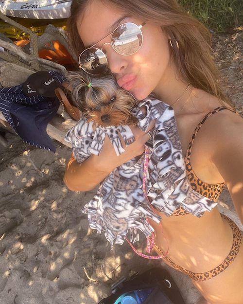 133758310 311938573462353 1311405686090675415 n Hailee Steinfeld festeggia il compleanno della sua cagnolina