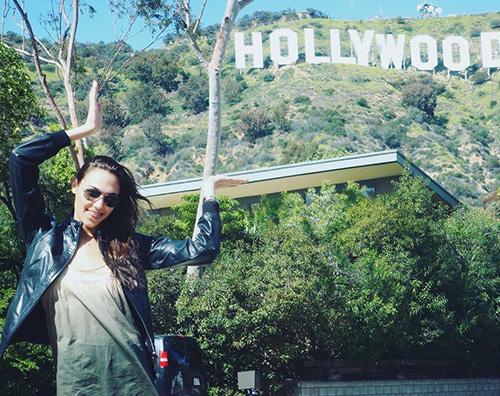 gal gadot Gal Gadot mostra la sua prima volta a LA