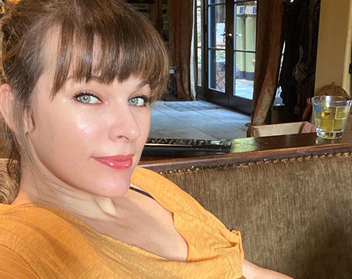 milla yovovich Milla Jovovich ha compiuto 45 anni