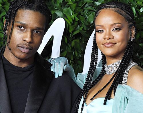 rihanna Rihanna e ASAP Rocky, primo Natale insieme come coppia