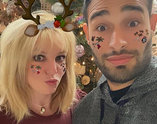 sam britney Britney e Sam, Natale in love