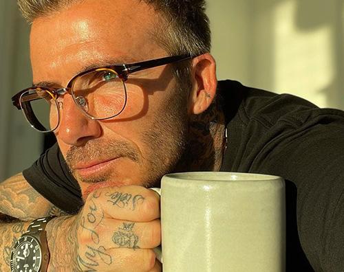 david beckham David Beckham più fascinoso che mai su Instagram