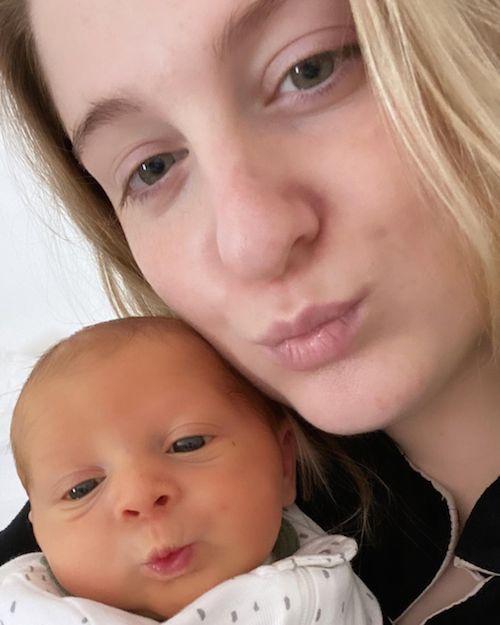 151330789 237855067923493 3785667715271494304 n Meghan Trainor, mammina raggiante su Instagram