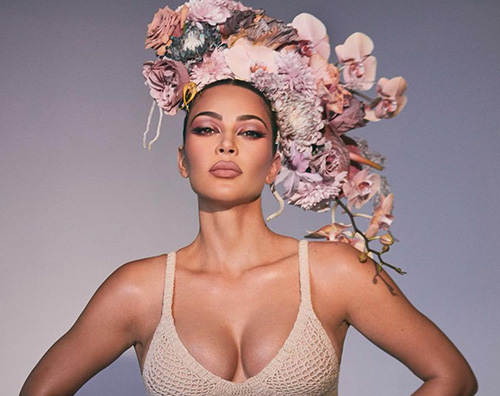 kim k Kim Kardashian regala fiori ai medici per San Valentino