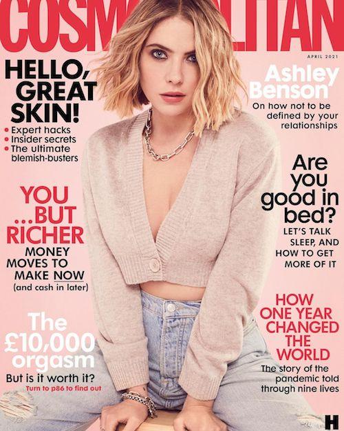 155320601 896593421123760 2642715886271384976 n Ashley Benson è sulla cover di Cosmopolitan