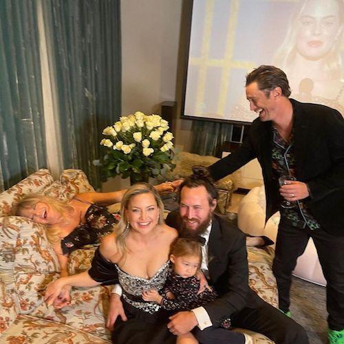 155951500 935743163925566 6685979672941409509 n Kate Hudson, foto di famiglia durante i Golden Globes