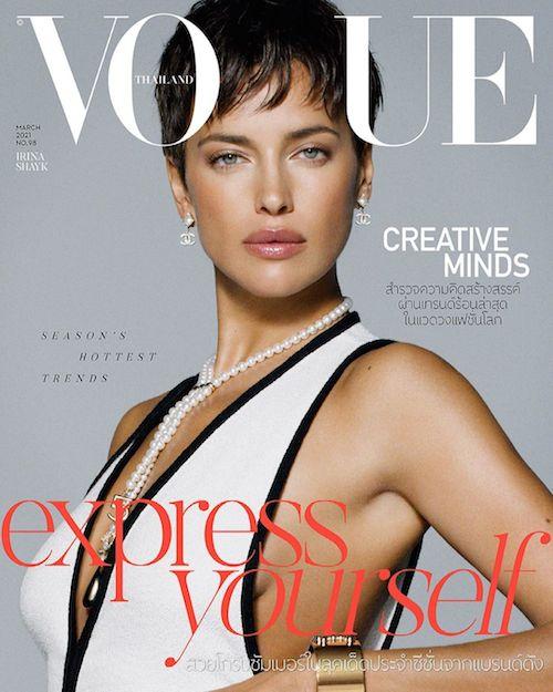 156620412 1349248292125384 1128252099528308320 n Irina Shayk è anche sulla cover di Vogue Tailandia