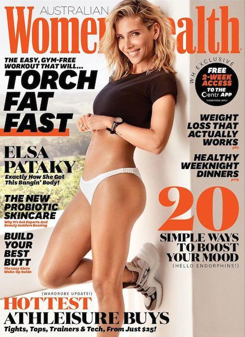 158612099 1367940683559366 2134866683406883463 n Elsa Pataky, fisico al top su Womens Health Australia
