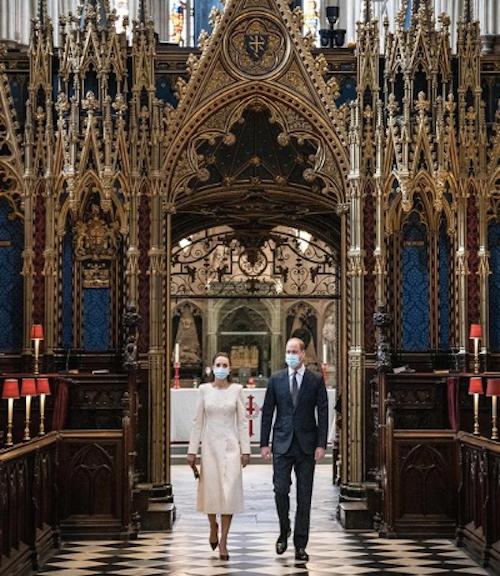 Schermata 2021 03 23 alle 21.14.00 William e Kate ritornano a Westminster Abbey