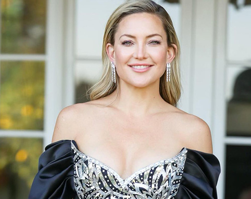goldie gown Prova costume superata per Kate Hudson