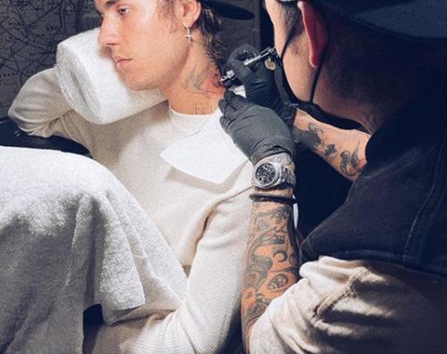 justin bieber 1 Justin Bieber ha un nuovo tattoo
