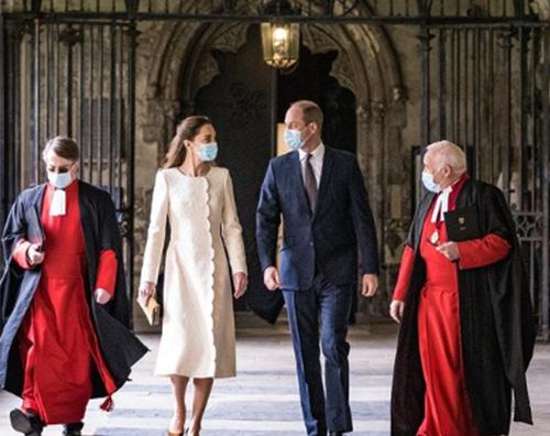 william kate 1 William e Kate ritornano a Westminster Abbey
