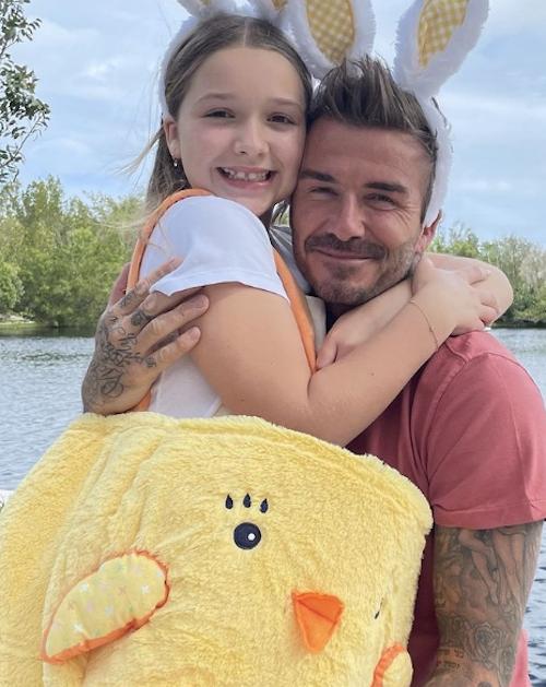 Schermata 2021 04 05 alle 22.34.58 Pasqua in famiglia per i Beckham