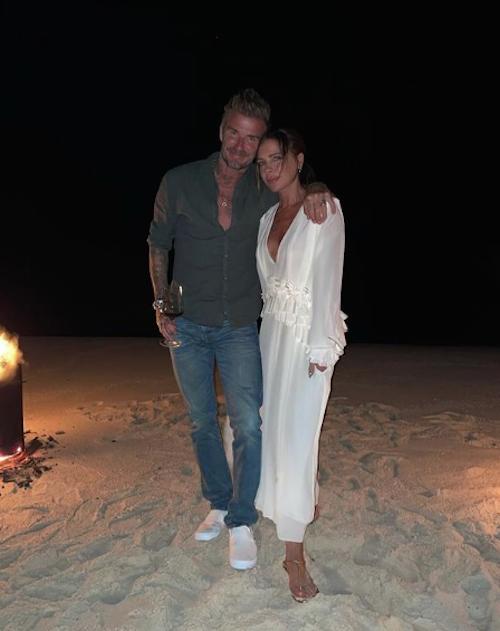 Schermata 2021 04 19 alle 08.58.33 David festeggia il compleanno di Victoria su Instagram