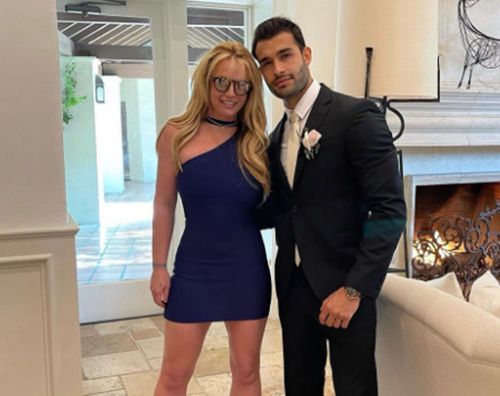 britney sam Britney e Sam, nessuna fretta per le nozze