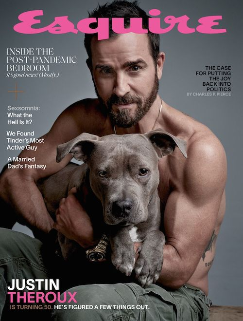 cover esq0421 144 1 1618337848 Justin Theroux parla della fine del matrimonio con Jennifer Aniston