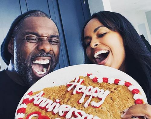 idris Idris Elba festeggia lanniversario su Instagram