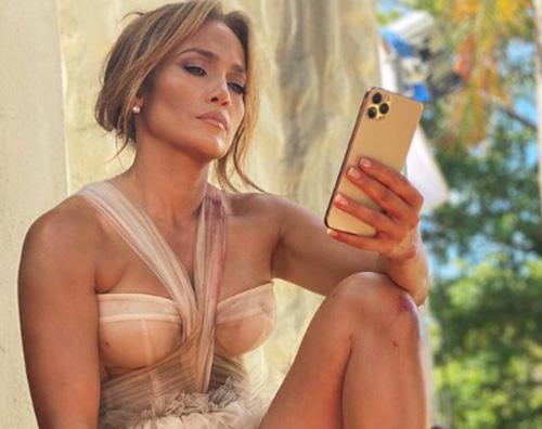 jennifer lopez Jennifer Lopez, relax sul set