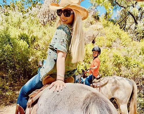 jessica simpson Jessica Simpson cavallerizza su Instagram