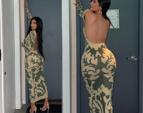 kylie jenner Kylie Jenner mostra il lato B su Instagram