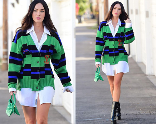 megan fox Megan Fox tutta sola a Beverly Hills