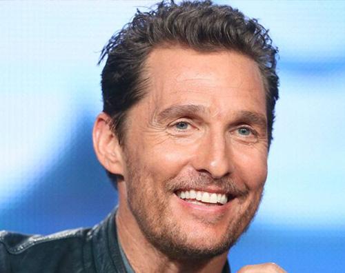 Matthew McConaughey Chi è questo biondino?