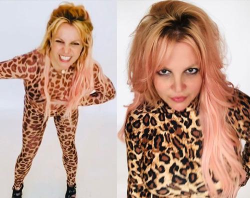 britney spears 1 Britney si è fatta i capelli rosa