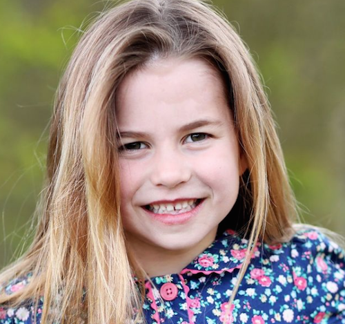 charlotte  La principessa Charlotte ha compiuto sei anni