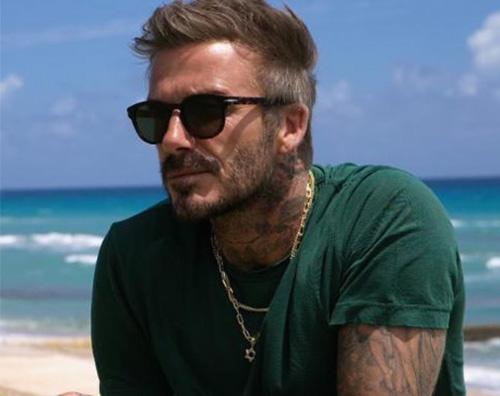 david beckham David Beckham, un figo su Instagram