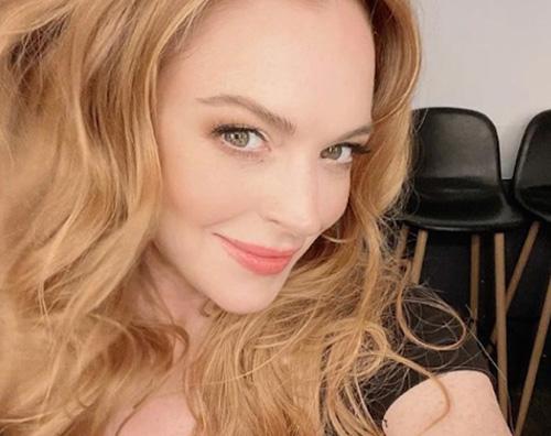 lindsay lohan Lindsay Lohan, selfie su Instagram