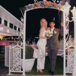 sophie e joe 2 150x150 Secondo anniversario di nozze per Joe e Sophie