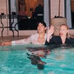 sophie e joe 7 150x150 Secondo anniversario di nozze per Joe e Sophie