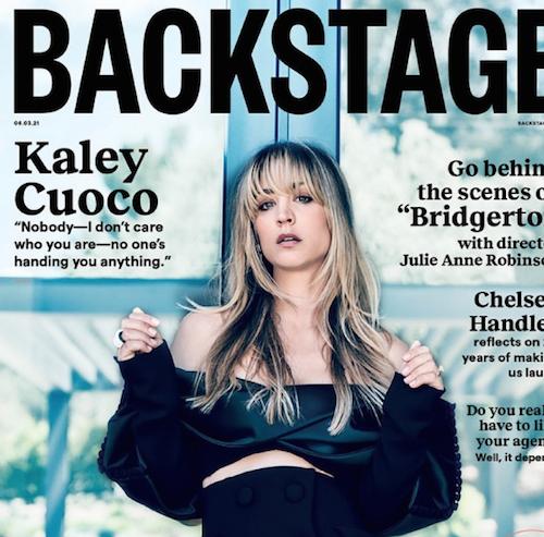Schermata 2021 06 03 alle 14.10.18 Kylie Cuoco sfoggia la frangetta su Backstage