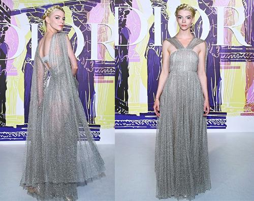 anya Anya Taylor Joy incanta alla sfilata Dior