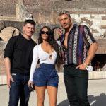 kim kardashian 1 1 150x150 Kim Kardashian, le foto del viaggio a Roma