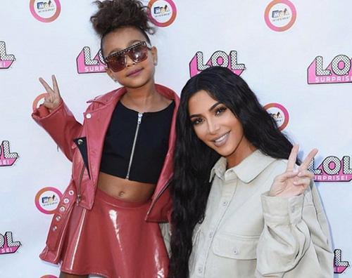 kim north Kim Kardashian celebra il compleanno di North