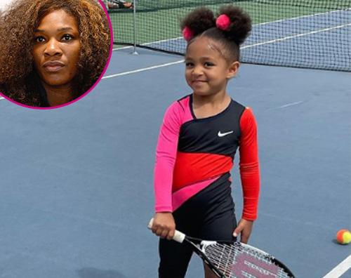 olimpia  Serena Williams, Olimpia è una piccola promessa del tennis