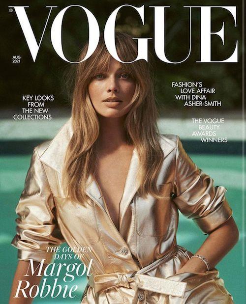 217741953 409170063805062 3874709599412264372 n Margot Robbie, nuovo look sulla cover di British Vogue