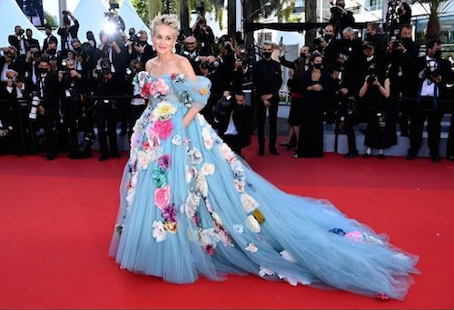 218315993 521202995698884 7636914917590087863 n Sharon Stone, una Cenerentola a Cannes