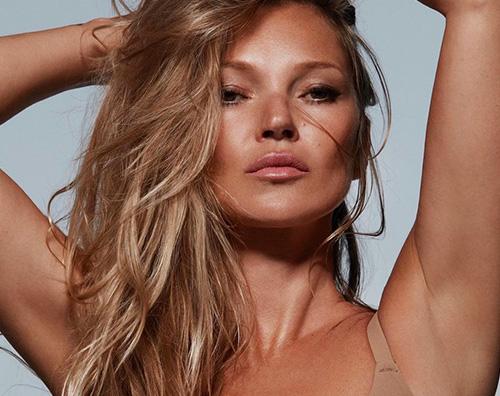 Kate Moss cover Kate Moss è il nuovo volto di SKIMS