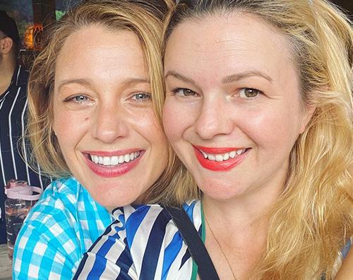 blake amber Blake Lively e Amber Tamblyn insieme sui social