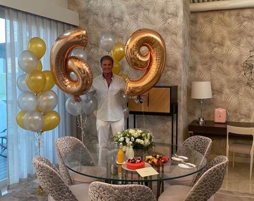 david  David Hasselhoff festeggia il compleanno su Instagram