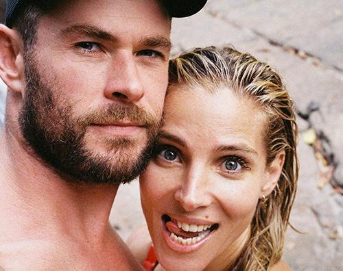 elsa chris Chris Hemsworth festeggia il compleanno di Elsa su IG