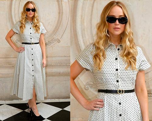 jennifer lawrence Jennifer Lawrence a Parigi per Dior
