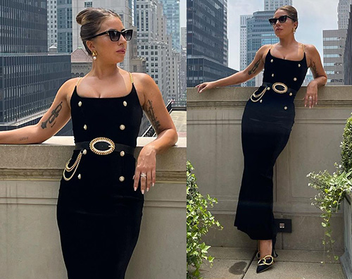 lady gaga 1 Lady Gaga glam a New York