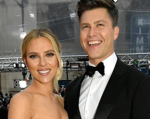 scarlett colin Colin Jost conferma la gravidanza di Scarlett