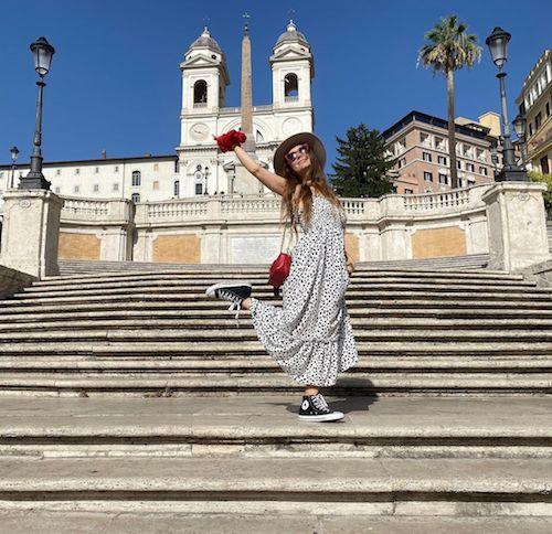 227819493 251936936528794 3765755560189067656 n Billie Lourde in love a Roma